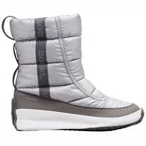 Sorel Women Out N About Puffy Mid Metal Pure Silver